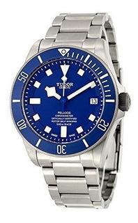 Tudor Pelagos Blue Dial Reloj Automatico Para Hombre 25600tb
