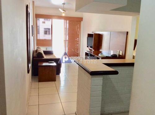 Apartamento À Venda, 1 Quarto, 1 Suíte, 1 Vaga, Copacabana - Rio De Janeiro/rj - 16068