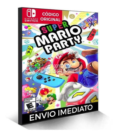 Super Mario Party - Nintendo Switch Código Eshop Digital