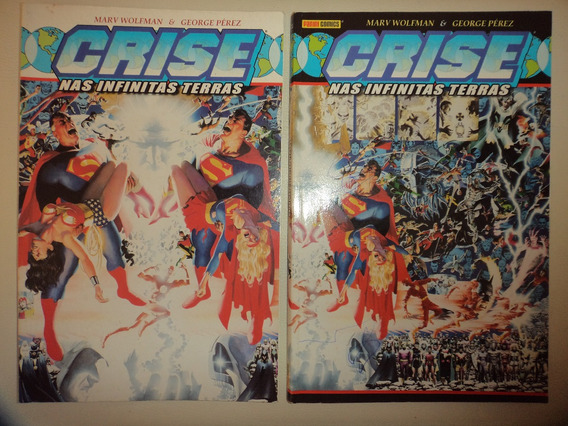 Crise Nas Infinitas Terras 1 E 2 + Savage Drg 1234 + Cav Tre