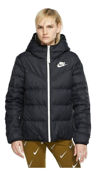 Campera Camperon Nike Down Fill Pluma Negra Inflable Mujer
