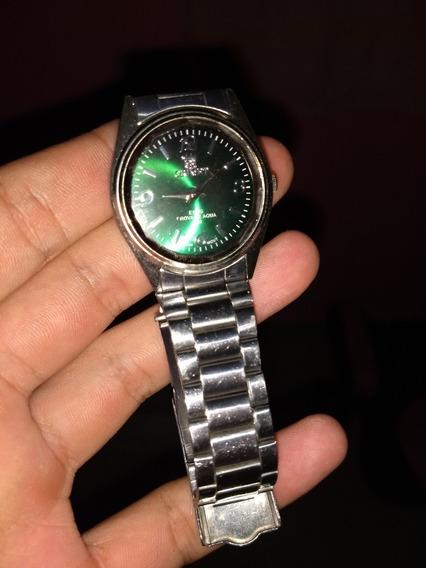 Relógio Oriente Verde A Prova G Agua