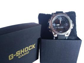 Relógio Metal Masculino Anti Shock Resistente Água + Caixa