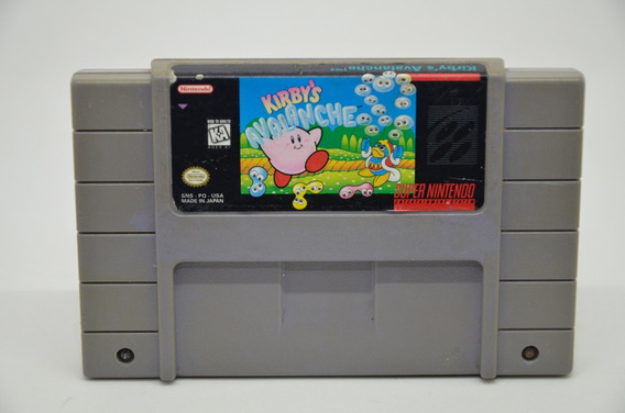 Kirbys Avalanche Super Nintendo Snes Original Americano
