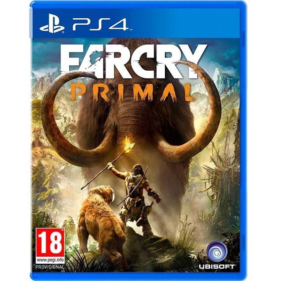 Jogo Far Cry Primal Ps4 Mida Fisica Original Novo Português