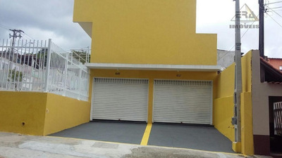 Salão Comercial Para Venda E Locação, Braz Cubas, Mogi Das Cruzes. - Sl0058