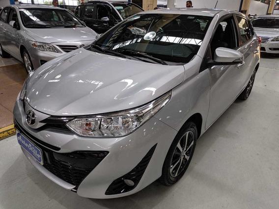 Toyota Yaris 1.5 Flex Xs Prata 2019 (automático + Couro)