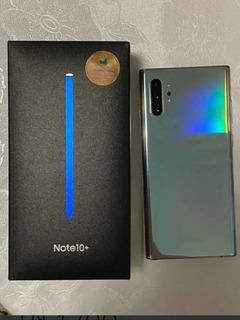 Samsung Galaxy Note 10 Plus,12/256,prata,na Garantia,zerado