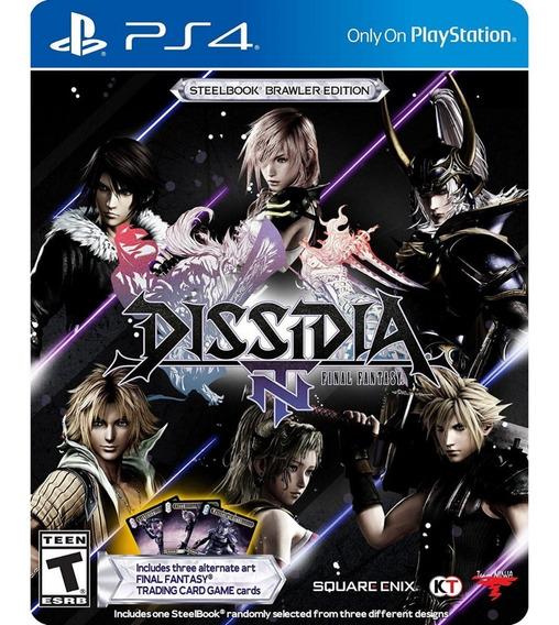 Dissidia Final Fantasy Steelbook Edition (mídia Física) Novo