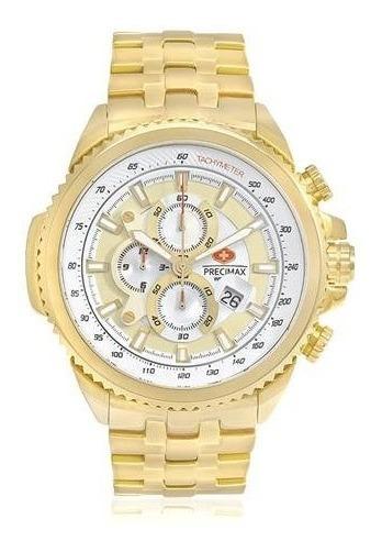 Relógio Masculino Swiss Precimax Px14034 Novo C/ Nota Fiscal