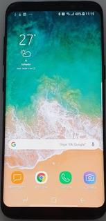 Celular Samsung S8 Preto - Tela Trincada