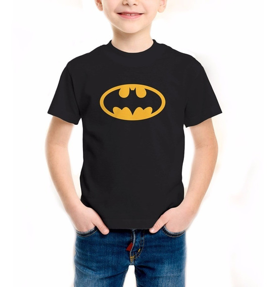 Playera Batman Niño Niña Oferta