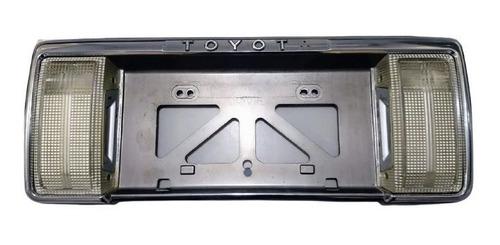Suporte Moldura Placa Toyota Hilux Sw4 V6 1990- 1995