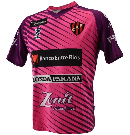 Camiseta Alternativa Patronato Lyon 2018 Fucsia Original