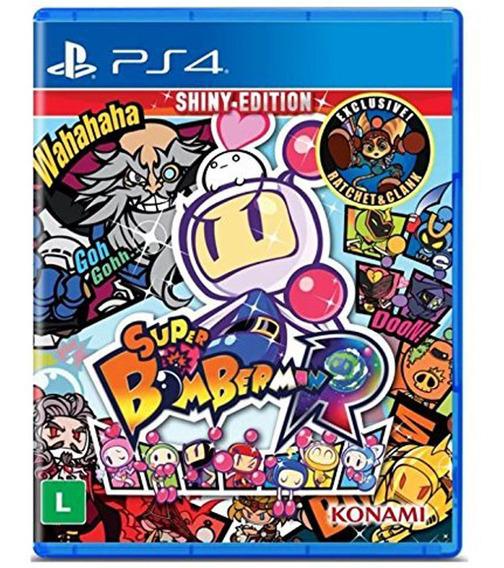 Jogo Ps4 - Super Bomberman R - Konami - Sony