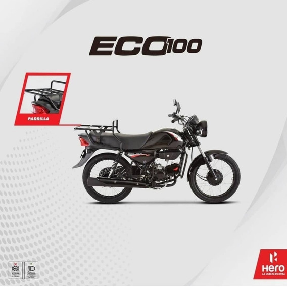 Hero Eco 100 Modelos 2021 New