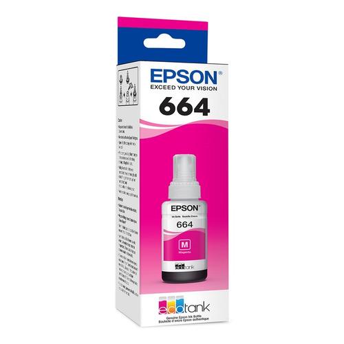 Botella Tinta Epson T664 Original Negro O Colores 70 Ml 664
