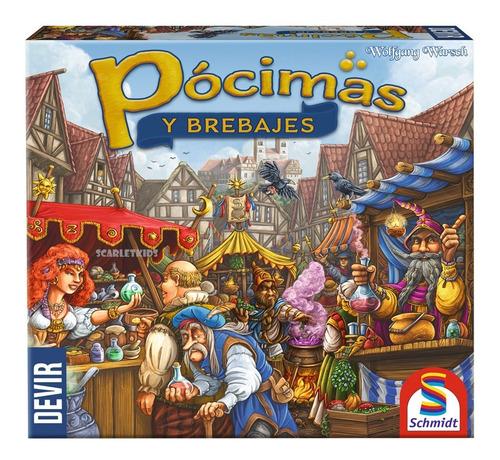 Pocimas Y Brebajes Devir Español Juego De Mesa Scarlet Kids