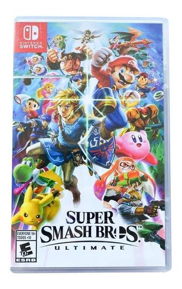 Super Smash Bros Ultimate - Mídia Física - Lacrado