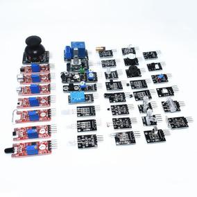 Kit 37 Módulos Sensores Para Arduino Compativel + Brinde