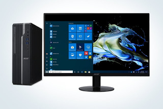 Pc Acer Veriton X Vx2665g + Monitor Acer V206hql Bbi