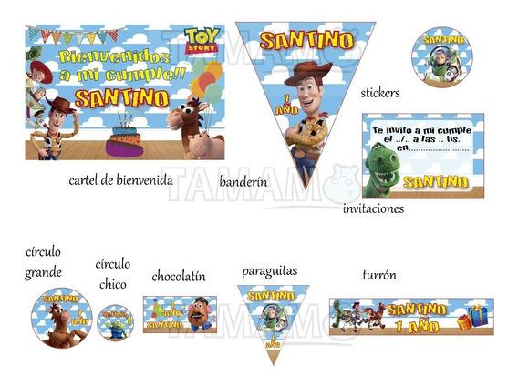 Toy Story Oferta Cumpleaños Candy Bar Impreso