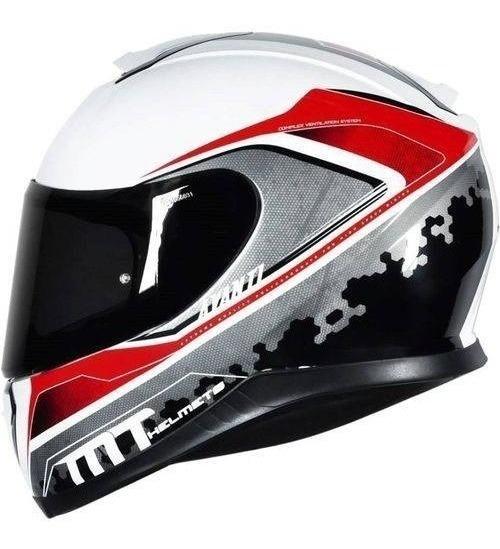 Capacete Moto Mt Helmets Thunder 3 Avanti