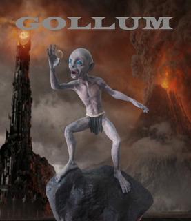 Gollum El Señor De Los Anillos Impresión 3d