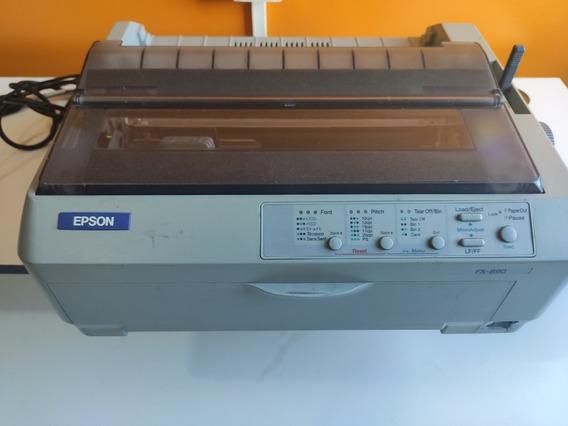 Epson Matricial Fx-890, 9 Agulhas 110v + Cabos