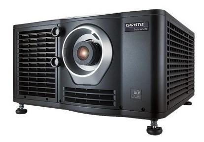 Projetor De Cinema Usado 2k Christie Solaria One Com Server