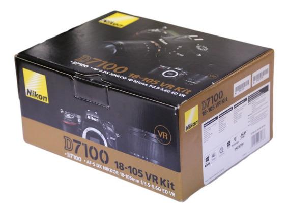 Nikon D-7100 24.1mp + Kit ( 18x105 Bolsa Tripé Grip 64gb )