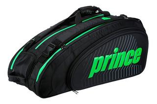 Raqueteira Prince Tour Slam Térmica X9 (tripla) Preta Verde