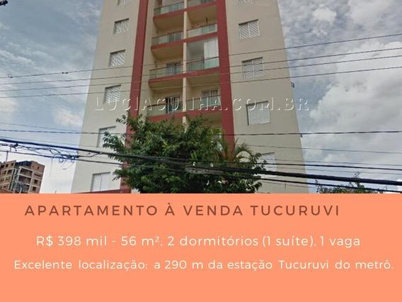 Apartamento À Venda No Tucuruvi - 56 M², 2 Dormitórios