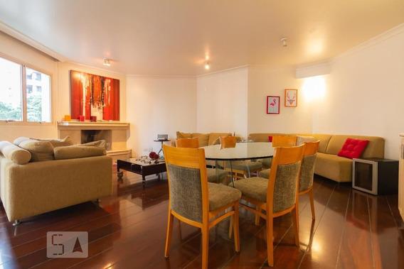 Apartamento No 3º Andar Com 4 Dormitórios E 3 Garagens - Id: 892950130 - 250130