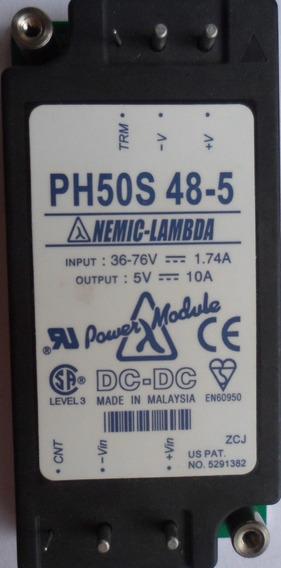 Conversor Dc Dc 48v Para 5v -10a De Saída -