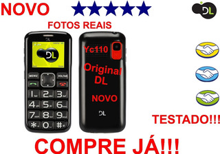Carcaça Do Celular Dl Yc110 Dual Chip Original Testado Antes