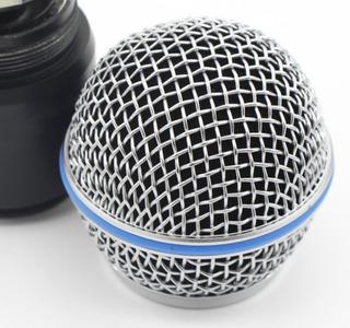 Rejilla Grill Micrófono Para Beta Sm58 Slx Pgx Inalambrico