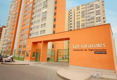 Alquiler Departamento Condominio Los Girasoles - Comas