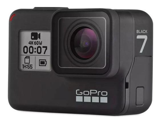 Câmera Hero 7 Black À Prova Dágua 12mp 4k Wifi, Gopro Preto