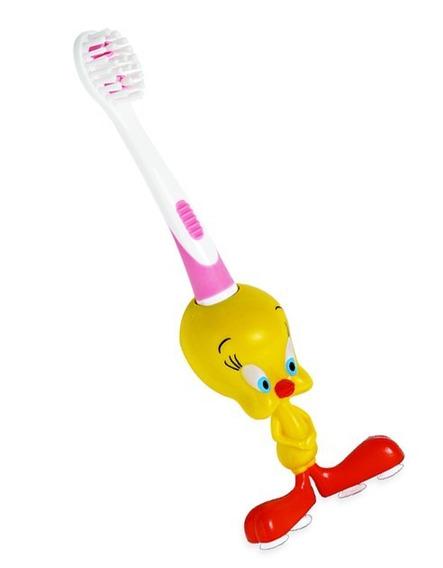 Escova De Dente Dental Extra Macia Infantil 3d Piu-piu