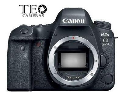 Canon 6d Mark Ii Corpo - À Pronta Entrega Em Sp - C/ Recibo