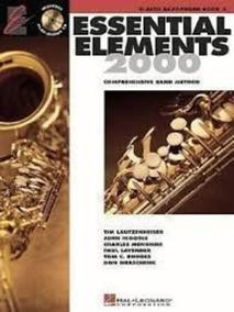 Essential Elements 2000: Alto Saxophone Book 2- No Includ...