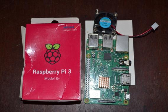 Raspberry Pi 3 Modelo B+ Fuente Cooler Disipador