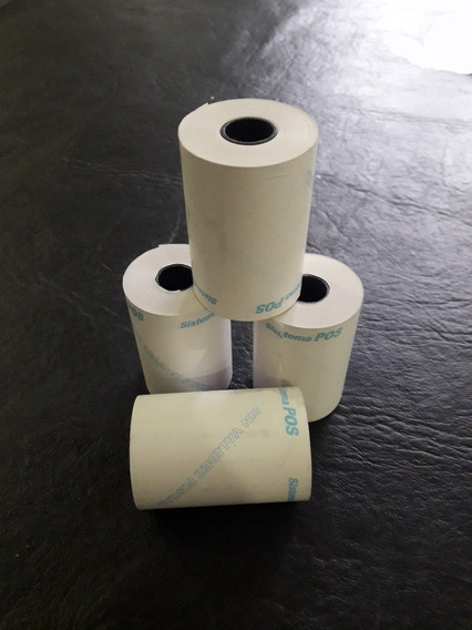 Rollo De Papel Termico 57x20 - Caja X 200 U. Posnet-lapos