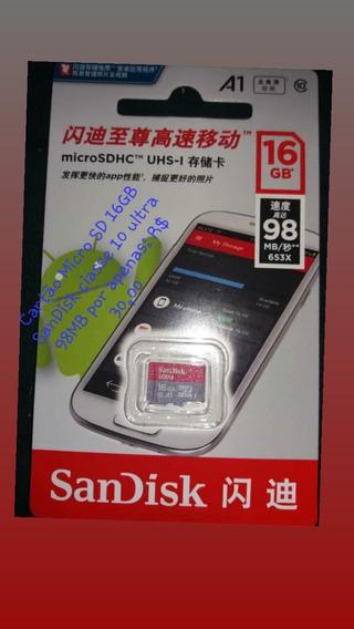 Card Sd 16gb (4 Unidades)