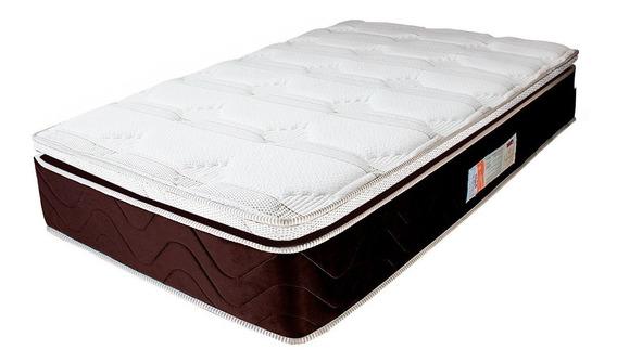 Colchão Solteiro Mola Verticoil Pillowtop 88x188x30cm - Duke