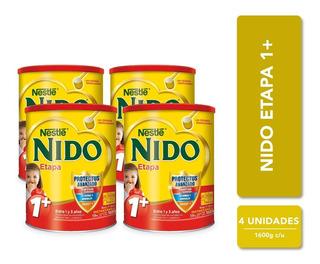 Leche Nido 1 + Protectus® 1600g Pack X4 Tarros