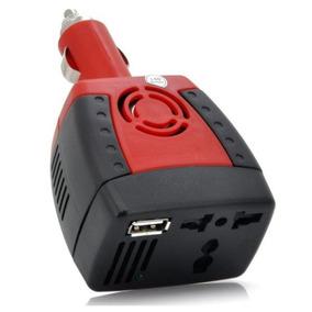 Carregador Inversor Energia Dc 12v Para Ac 220v-240v+usb 5v