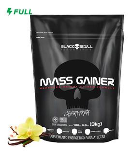 Hipercalórico Mass Gainer Refil 3kg - Black Skull