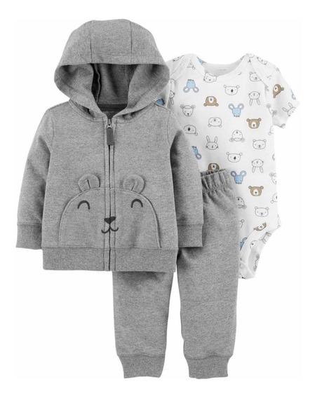 Conjunto Carters Inverno Frio Original Bebê Menino 24 Meses